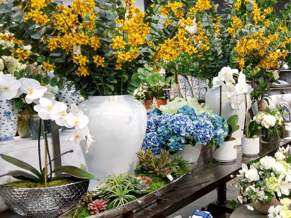 Aldik Home is proud to feature the most extensive collection of high quality silk flowers in the country!