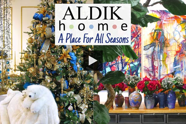 whether its the beauty of spring or the festive fun of christmas aldik home is