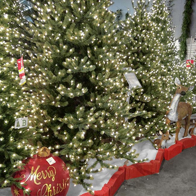 Los Angeles' Best Selection of Artificial Christmas Trees, Far Superior To Anything Sold Online