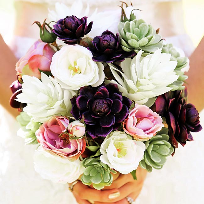 The Wedding Flowers of Your Dreams, Designed By You To Last For Years To Come