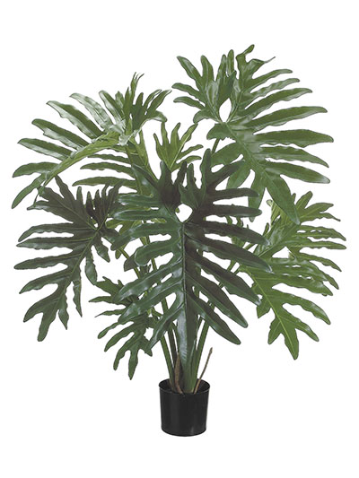 Aldik Home's Incredibly Realistic Silk Plants - Split Leaf Philo
