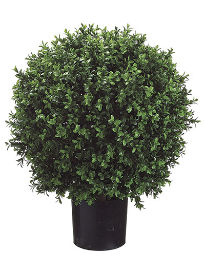 Aldik Home's Incredibly Realistic Silk Plants - Boxwood Ball Topiary