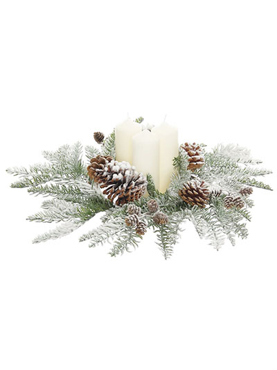 Aldik Home's Festive Christmas Decor - Candle Ring