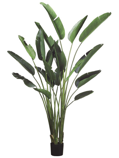 Aldik Home's Lush Silk Plants - Bird of Paradise Palm
