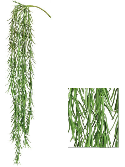 Aldik Home's Incredibly Realistic Silk Plants - Hanging Grass Stem