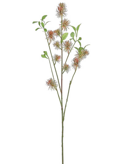 Aldik Home's Realistic Silk Plants - Thistle Stem
