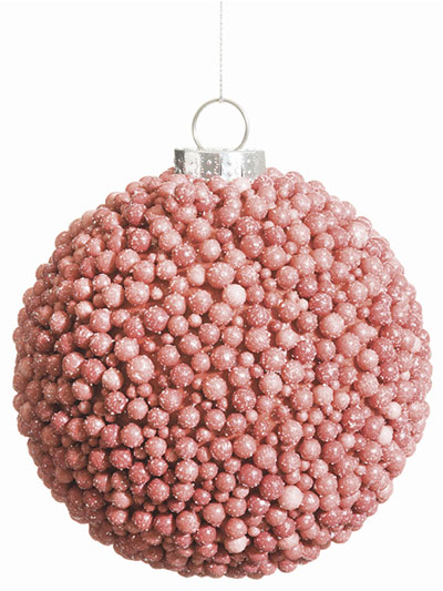 Aldik Home's Eclectic Christmas Ornaments - Berry Ball