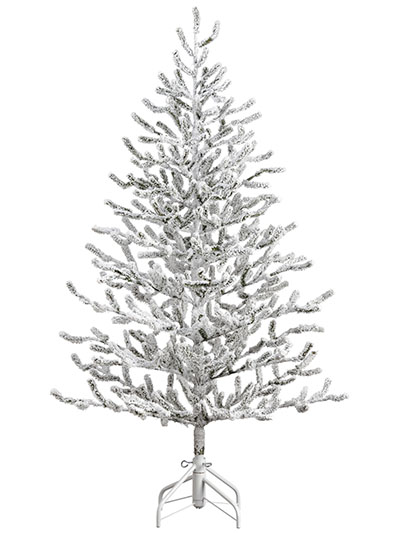 aldik homes premium artificial christmas trees alpine tree snowed - Red Artificial Christmas Tree