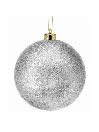 Aldik Home's Eclectic Christmas Ornaments - Shatterproof Glitter