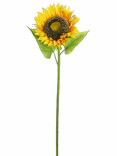 Silk flowers sunflower 42 in yellow aldik homes realistic silk flowers sunflower mightylinksfo