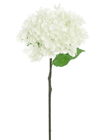 Silk flowers hydrangea grand 27 in cream aldik homes realistic silk flowers grand hydrangea mightylinksfo