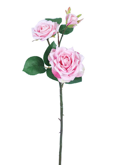 Silk roses rose stem 20 in light pink aldik homes realistic silk flowers rose stem mightylinksfo