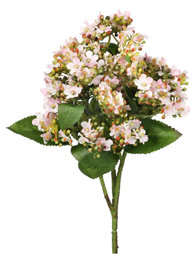 Aldik Home's Realistic Silk Flowers - Mountain Laurel Blossom