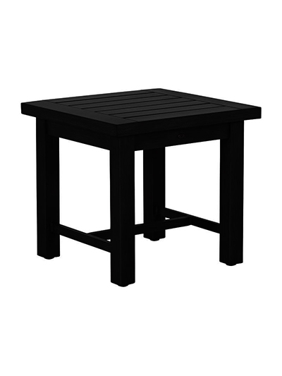 Aldik Home's Summer Classics Patio Furniture Floor Samples - Club Aluminum End Table