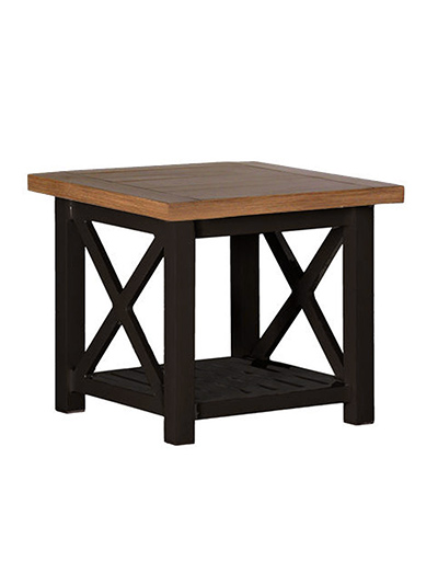 Aldik Home's Summer Classics Patio Furniture Floor Samples - Cahaba End Table