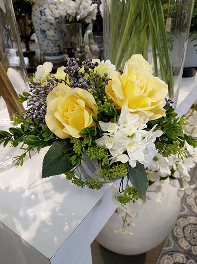 Aldik Home's Stunning Silk Floral Arrangements - Mixed Pave