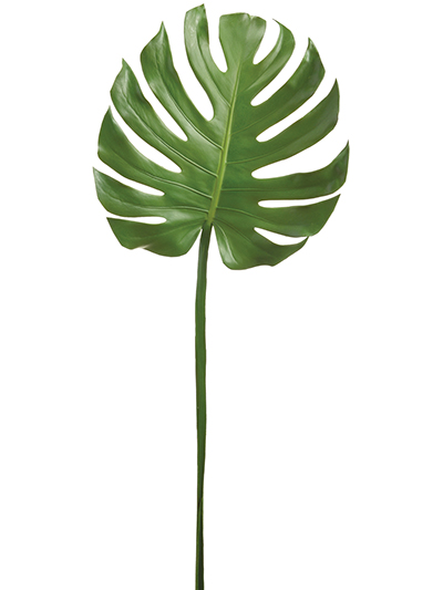 Aldik Home's Realistic Silk Plants - Monstera Leaf