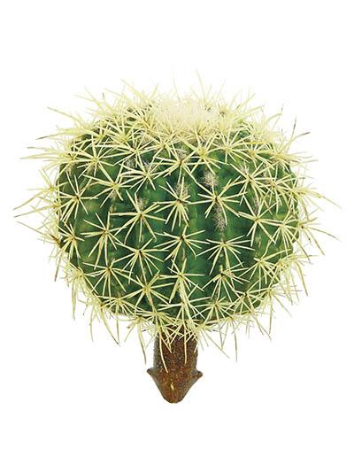 Aldik Home's Quality Artificial Succulents - Barrel Cactus
