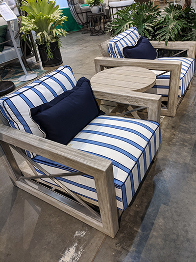 Aldik Home's Summer Classics Patio Furniture Floor Samples - Malta Lounge Chairs Set of 2