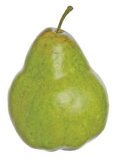 Aldik Home's Deliciously Realistic Fruits & Vegetables - Pear