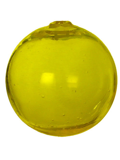 Aldik Home's Eclectic Home Decor and Accessories - Sphere Lemon