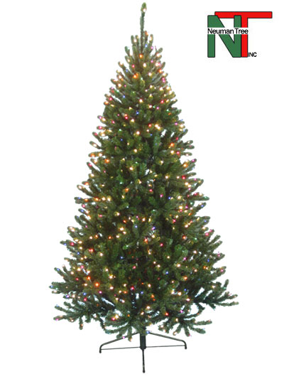 Aldik Home's Premium Artificial Christmas Trees - Colorado Fir (Soft Multi)