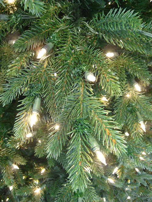 Artificial Christmas Trees Deluxe Canyon Spruce 10 Feet