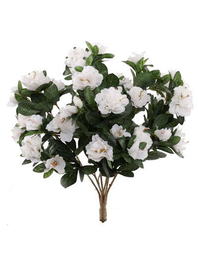 Aldik Home's Realistic Silk Flowers - Azalea Bush
