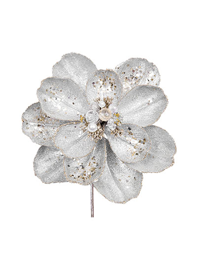 Aldik Home's Festive Christmas Ornaments - Jeweled Magnolia