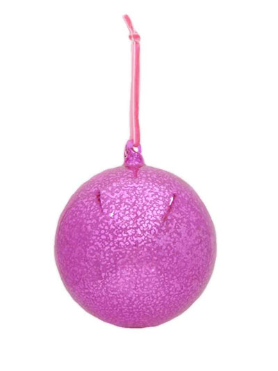 Aldik Homes Eclectic Christmas Ornaments Glass Orn Hot Pink
