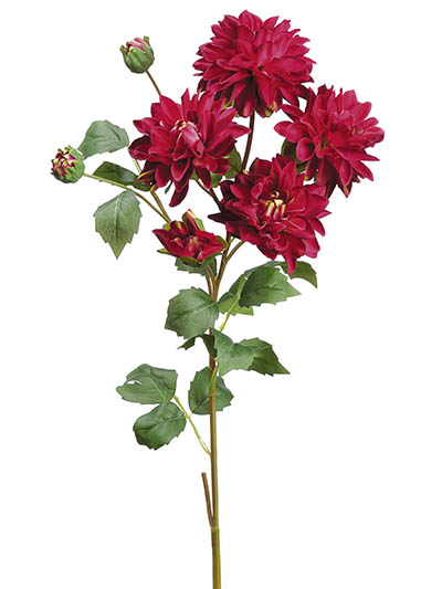 Aldik Home's Incredibly Realistic Silk Flowers - Dahlia Spray
