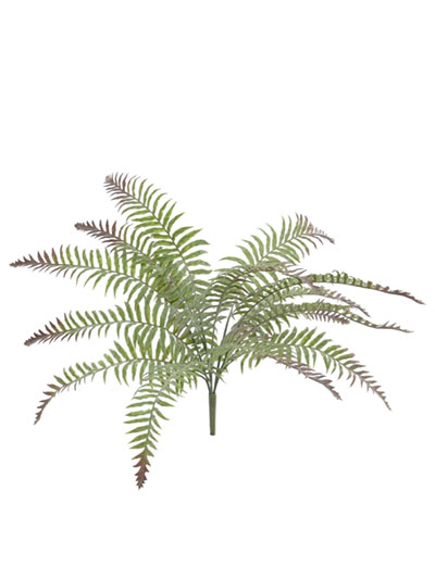 Aldik Home's Incredibly Realistic Silk Plants - Frost River Fern Bush
