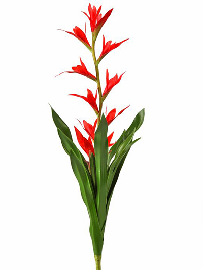 Aldik Home's Incredibly Realistic Silk Plants - Firecracker Bromeliad
