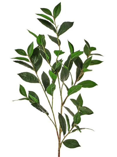 Aldik Home's Stunning Silk Plants - Bay Laurel Branch