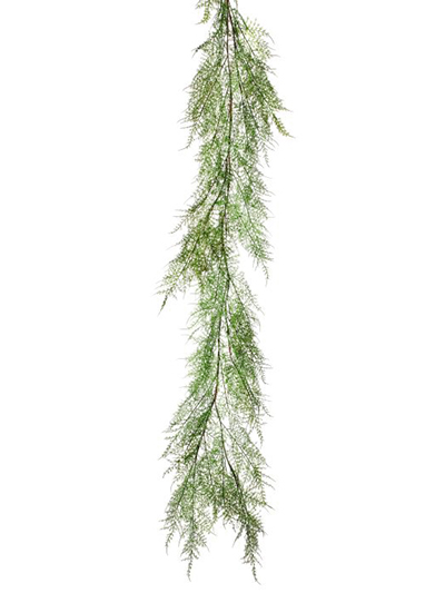 Aldik Home's Stunning Silk Plants - Natural Touch Asparagus Fern Garland