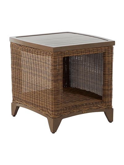 Aldik Home's Summer Classics Patio Furniture Floor Samples - Astoria End Table