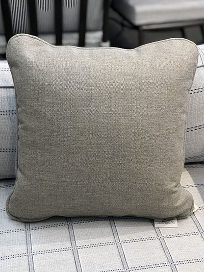 Aldik Home's Luxurious Outdoor Throw Pillows - Verona Pewter