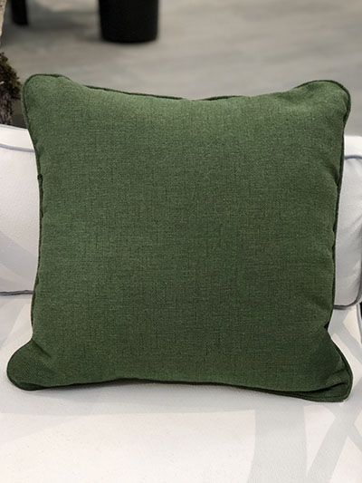 Aldik Home's Luxurious Outdoor Throw Pillows - Shelbourne Mallard Light