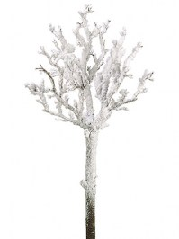Aldik Home's Festive Christmas Stems - Snowed Twig