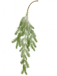 Aldik Home's Festive Christmas Stems - Pine With Snow
