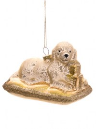 Aldik Home's Eclectic Christmas Ornaments - Dog