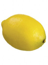 Aldik Home's Deliciously Realistic Fruits & Vegetables - Lemon