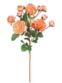 Aldik Home's Realistic Silk Flowers - Rose Plant