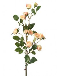 Aldik Home's Realistic Silk Roses - Rambling Rose Spray