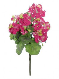 Aldik Home's Realistic Silk Flowers - Greanium Bush