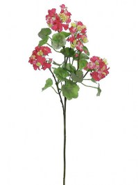 Aldik Home's Realistic Silk Flowers - Greanium Stem