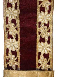 Aldik Home's Luxurious Ribbon - Flower Cut Velvet