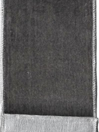 Aldik Home's Luxurious Ribbon - Grey Velvet
