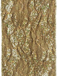 Aldik Home's Luxurious Ribbon - Metallic Lace