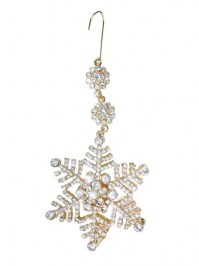 Aldik Home's Eclectic Christmas Ornaments - Snowflake Ornament Hanger